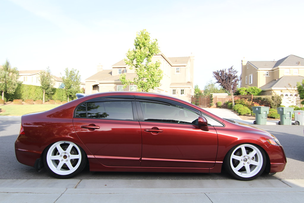 Honda Civic Si Sedan Www Facebook Com Pages Brendan Bannis Flickr