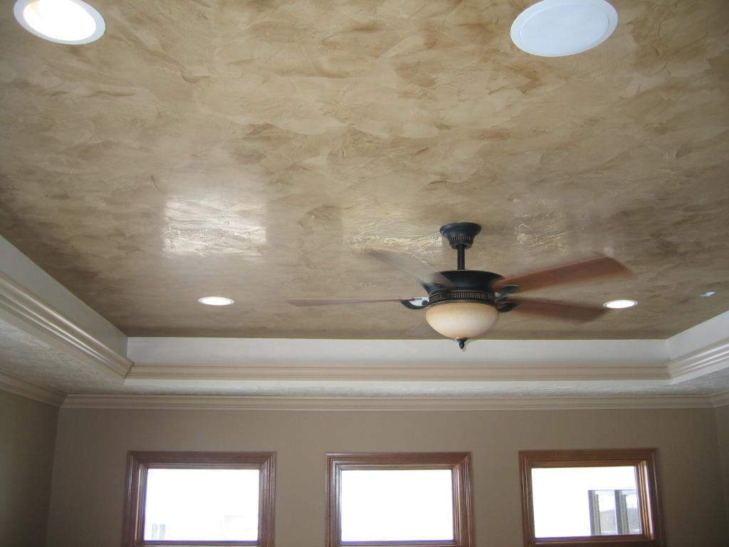 Tray Ceiling Italian Venetian Plaster Bella Faux Finis
