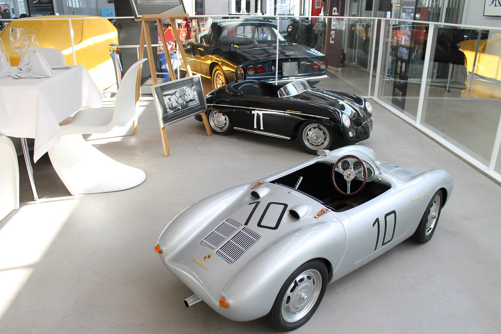 porsche 356 and 550 as pedal cars saisonauftakt meilenwerk flickr. Black Bedroom Furniture Sets. Home Design Ideas