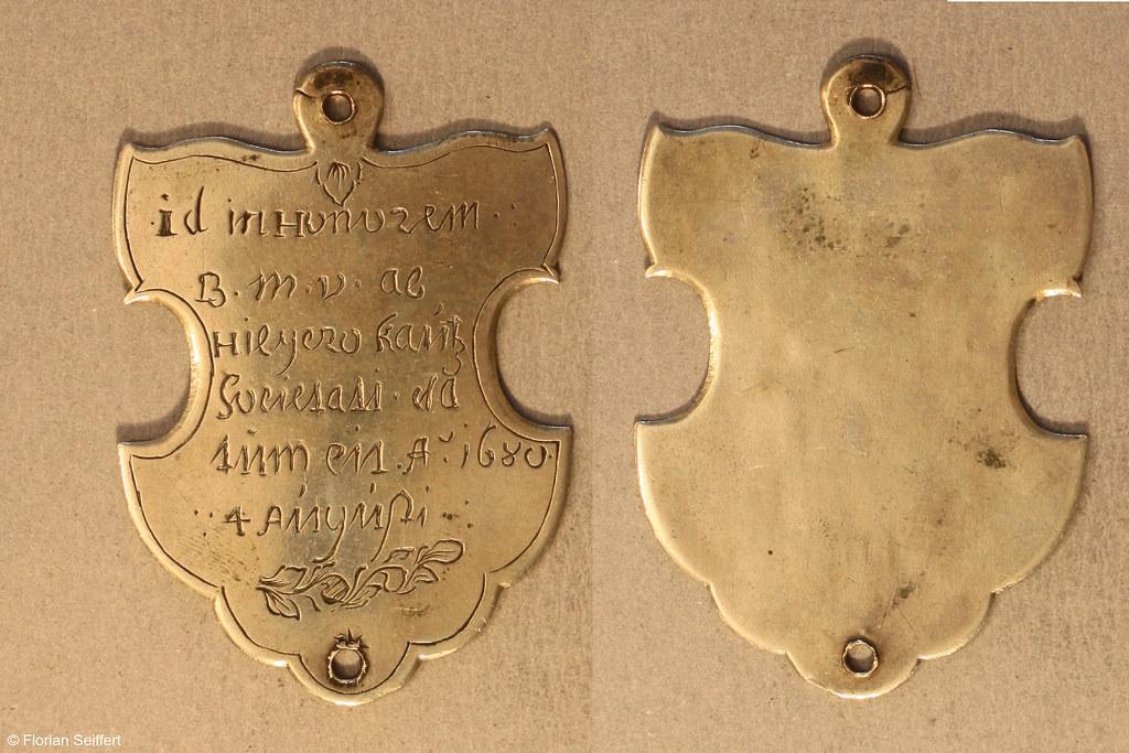 Koenigsschild Flittard von kautz hilyero aus dem Jahr 1680