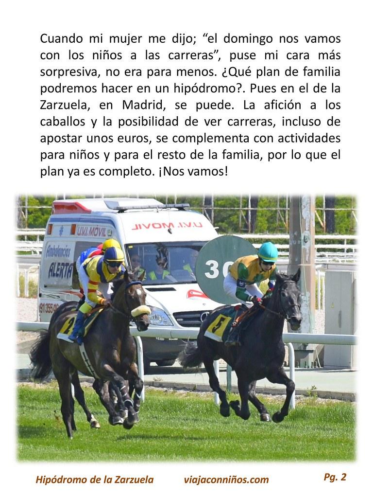 Un día en las carreras - Hipódromo de la Zarzuela.