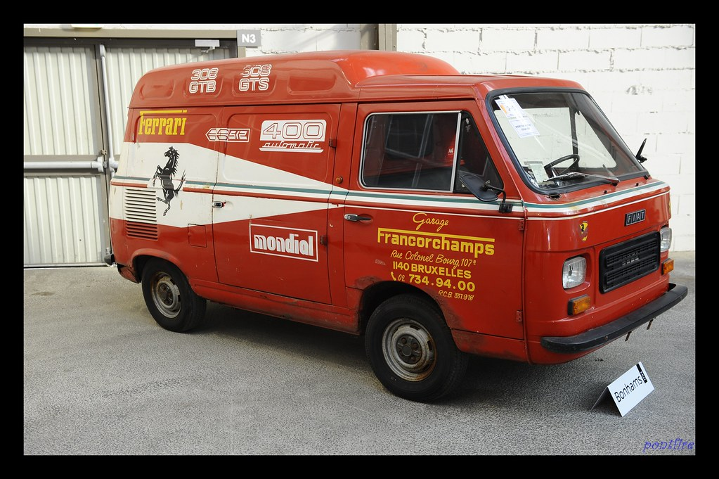 1978 fiat 900t camionnette de service ferrari eric flickr. Black Bedroom Furniture Sets. Home Design Ideas