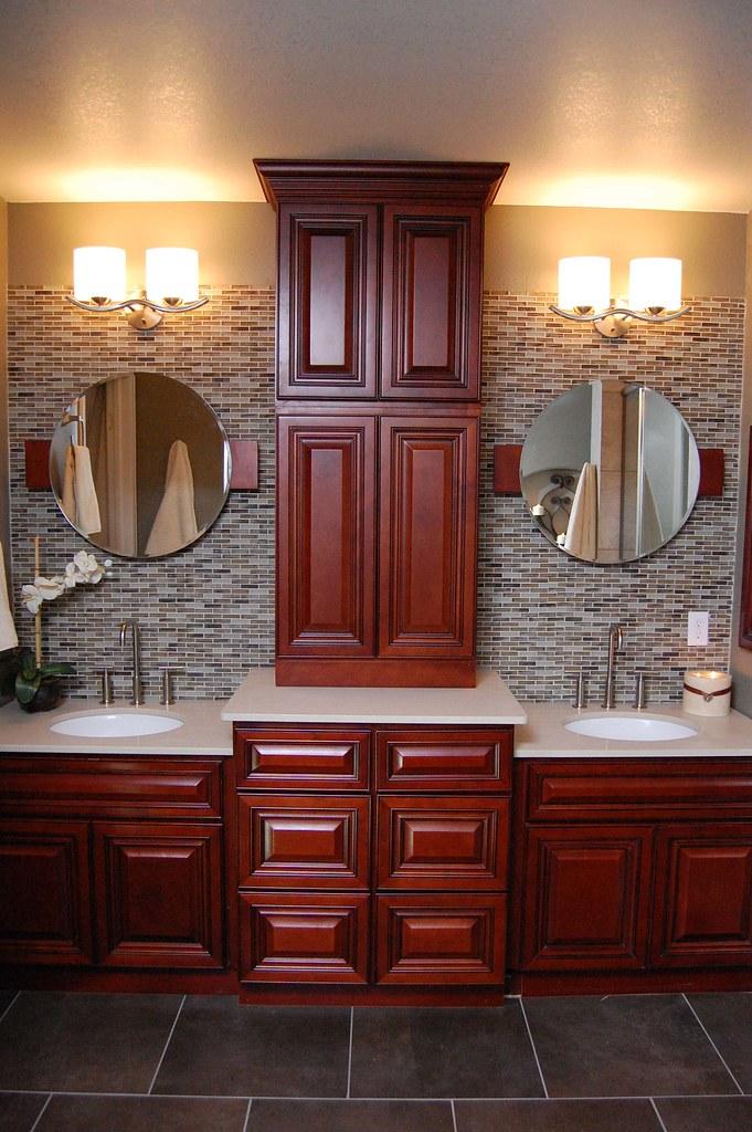 Cherryville Master Bathroom Vanity Set Up | Very creative ...