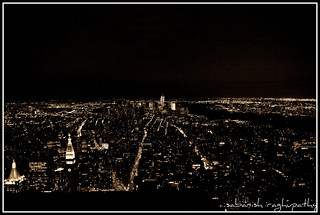 New York Skyline from Empire State Building | by sabarishr