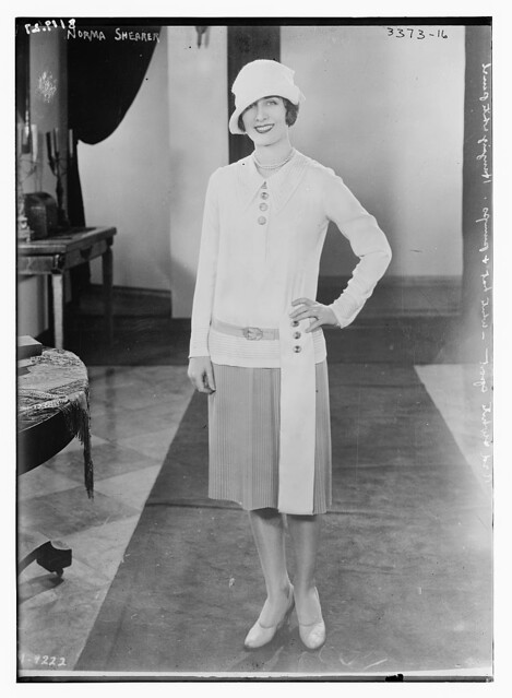 Norma Shearer [in short dress]  (LOC)