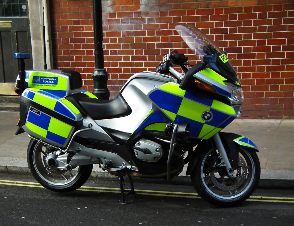 Met Police Traffic Bike Metropolitan Police Traffic Bike