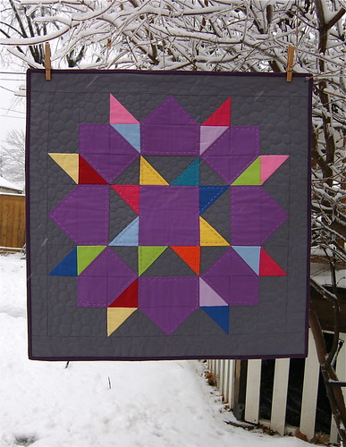 Solid Swoon Mini Quilt | by Michelle from CityHouseStudio