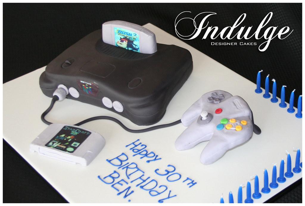 Nintendo Cakes Birthday