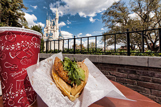 Magic Kingdom's Sleepy Hollow - Sweet and Spicy Chicken Waffle | by Scott Sanders [ssanders79]