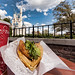 Magic Kingdom's Sleepy Hollow - Sweet and Spicy Chicken Waffle