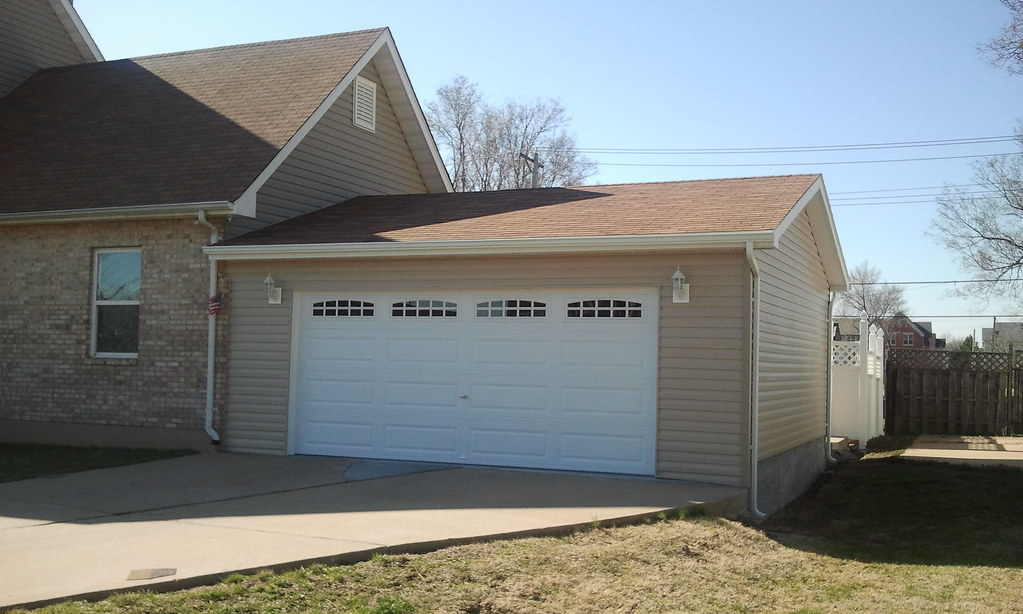 Premier pro ranch garage this attached garage was built for Adding onto a manufactured home
