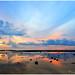 Sunset in Dakak Beach Resort