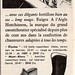 The 1950s-1959 ad for Aigle rubber boots