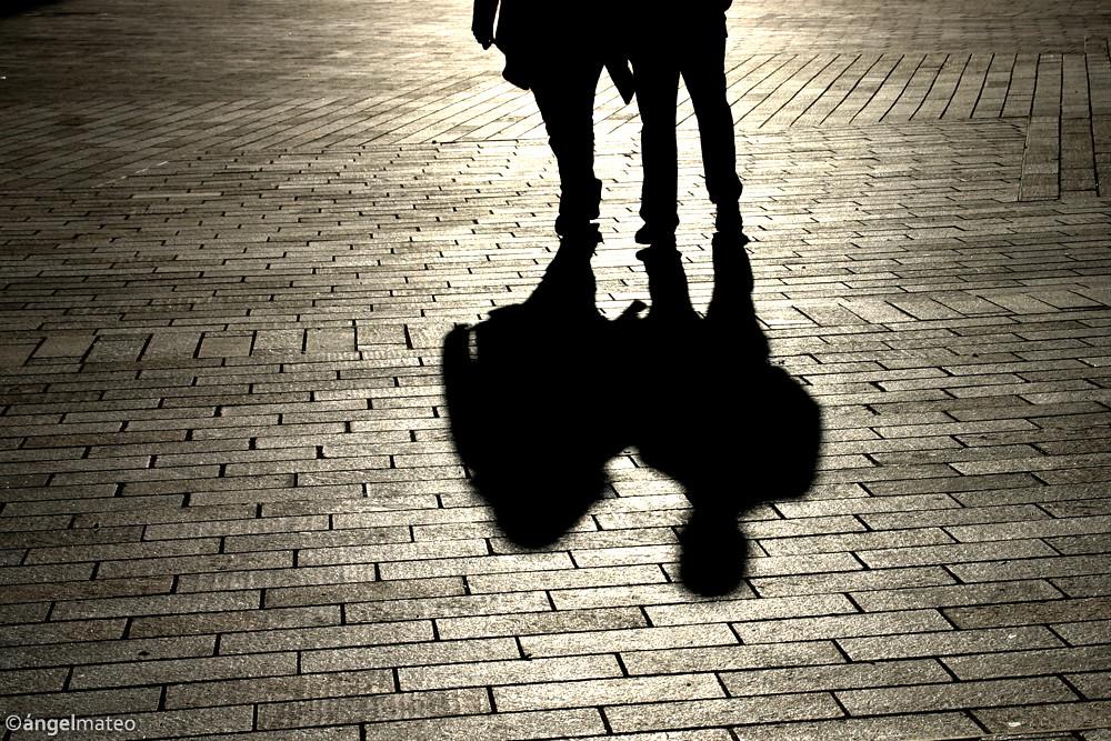 Resultado de imagen de sombra pareja