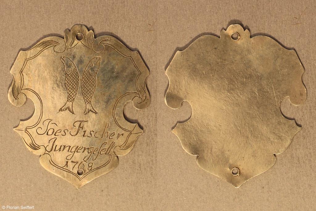 Koenigsschild Flittard von fischer joes aus dem Jahr 1768