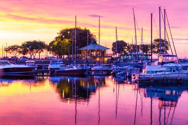 McKinley Marina Sunrise