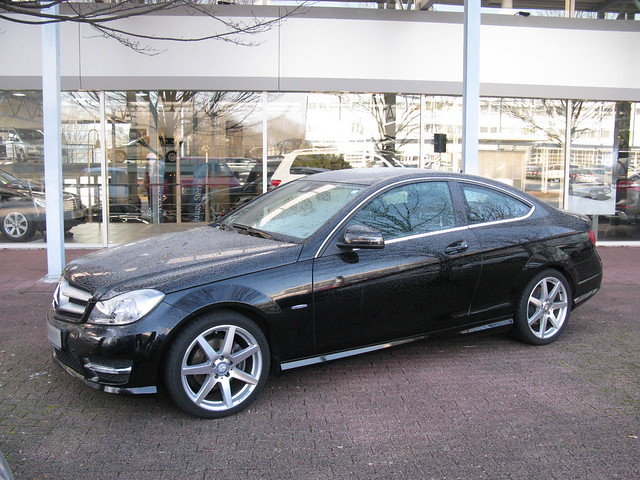 mercedes benz c220 cdi coup w204 flickr photo sharing. Black Bedroom Furniture Sets. Home Design Ideas