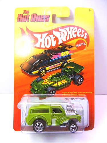 hot wheels hot ones morris wagon (1) | by jadafiend