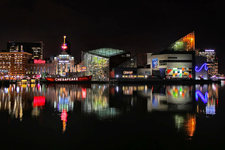 Baltimore Inner Harbor at night | by Andrew Vox Photography