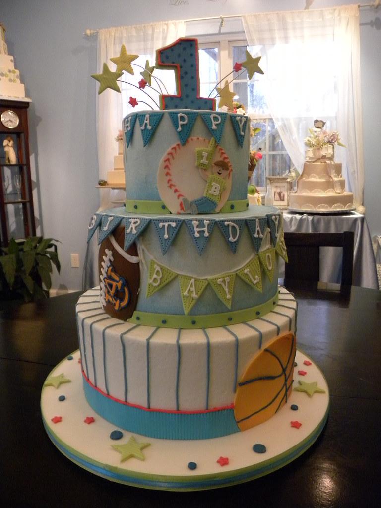 All Star Sports Birthday Cake Wwwtiifanysbakingcocom Flickr - All star birthday cake