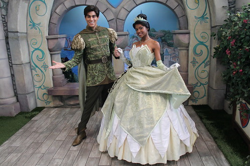 Meeting Tiana and Naveen | by Castles, Capes & Clones
