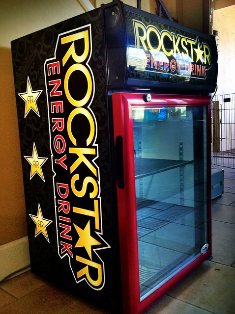 Neon Signs For Sale >> Rockstar Energy Drink Mini Fridge | Flickr - Photo Sharing!