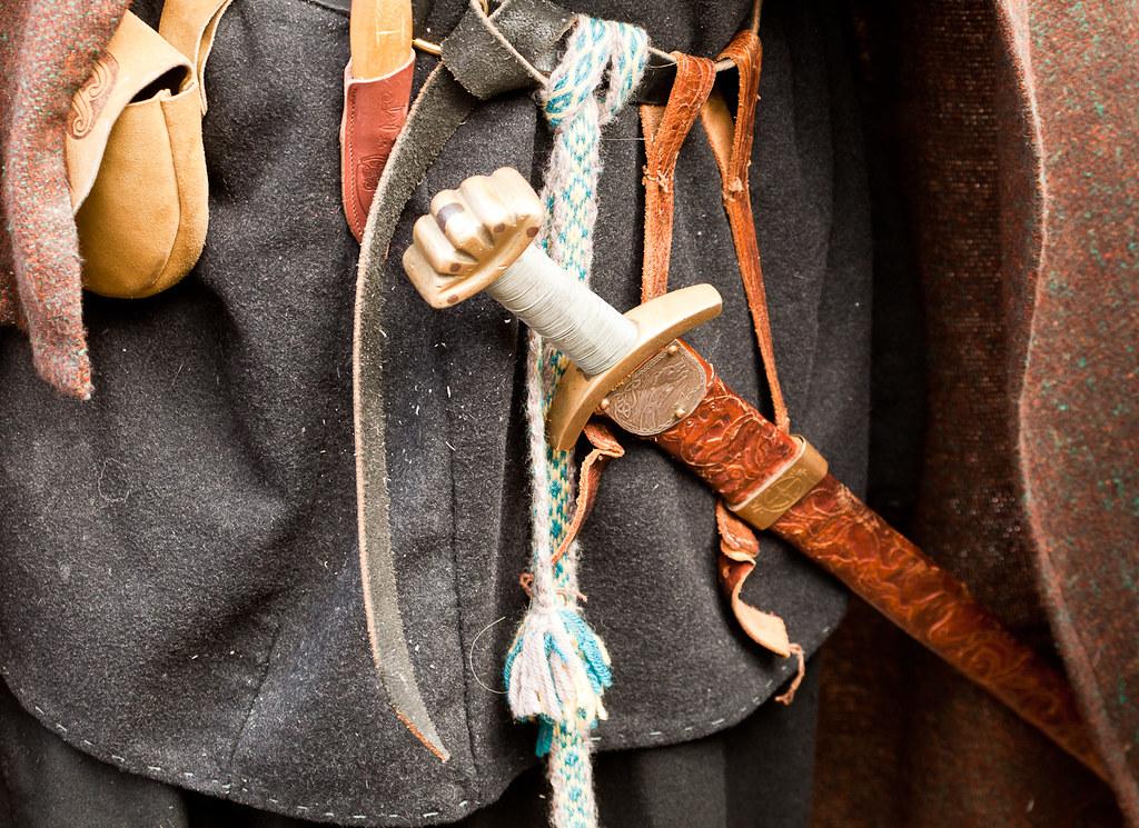 Jorvik Viking Festival 2012 | Costume detail | alh1 | Flickr Viking