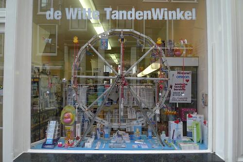 Vitrine De De Witte Tanden Winkel Amsterdam Janvier 201 Flickr
