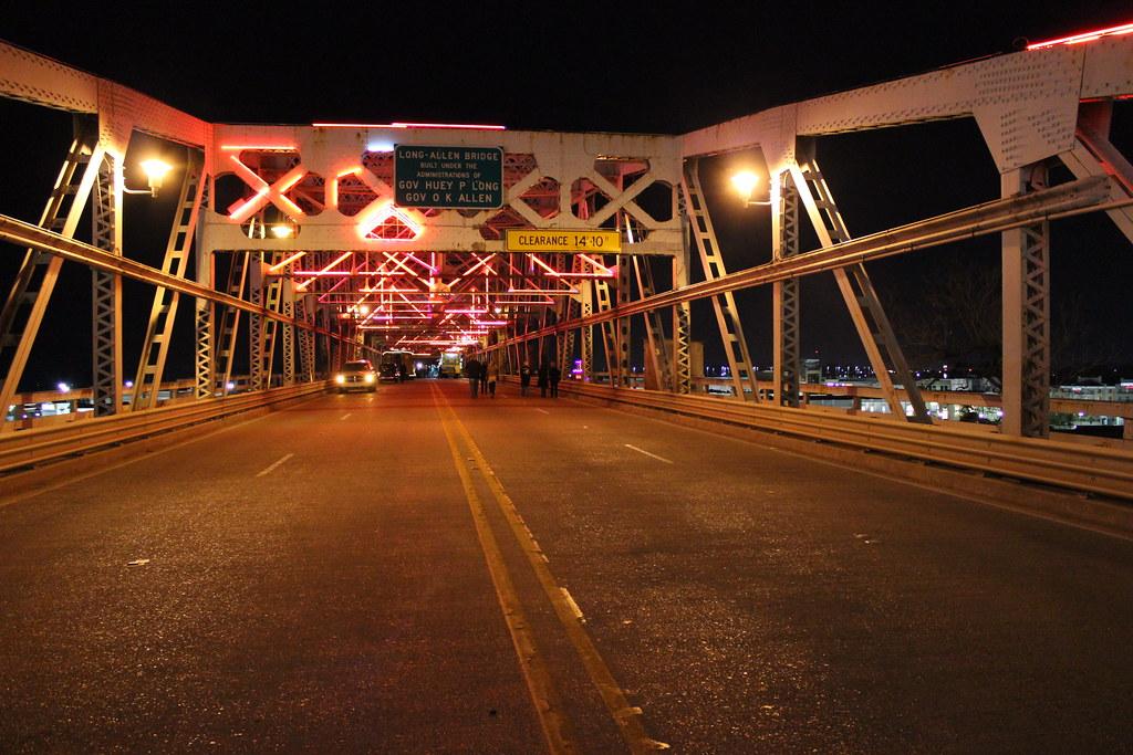 texas street bridge closing ceremony shreveport la flickr