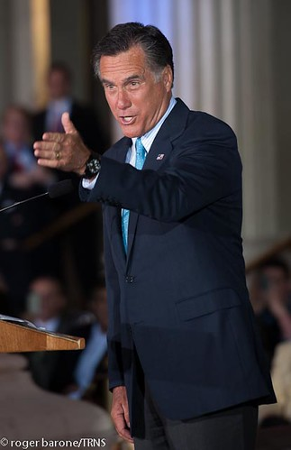 Governor Mitt Romney Campaigning at Philadelphia's Franklin Institute (April 2012) | by Talk Radio News Service