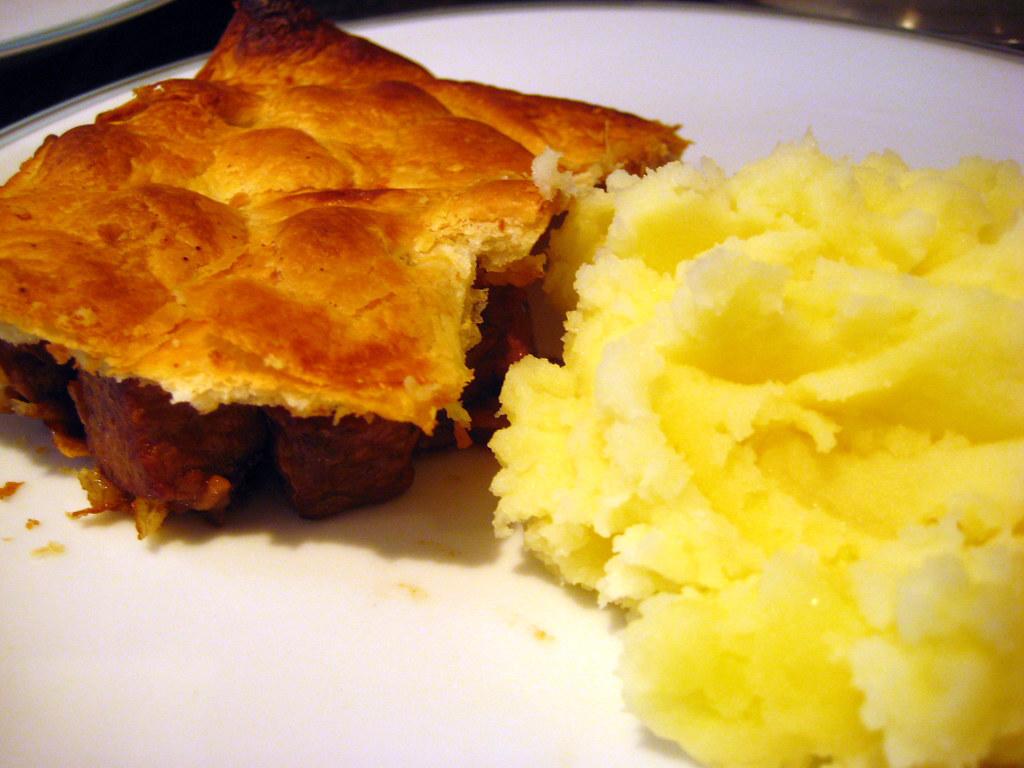 Steak and Kidney Pie and Mash - Great British Chefs Lunch ...