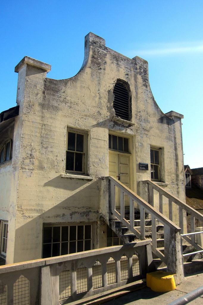 San Francisco Alcatraz Military Chapel The Military