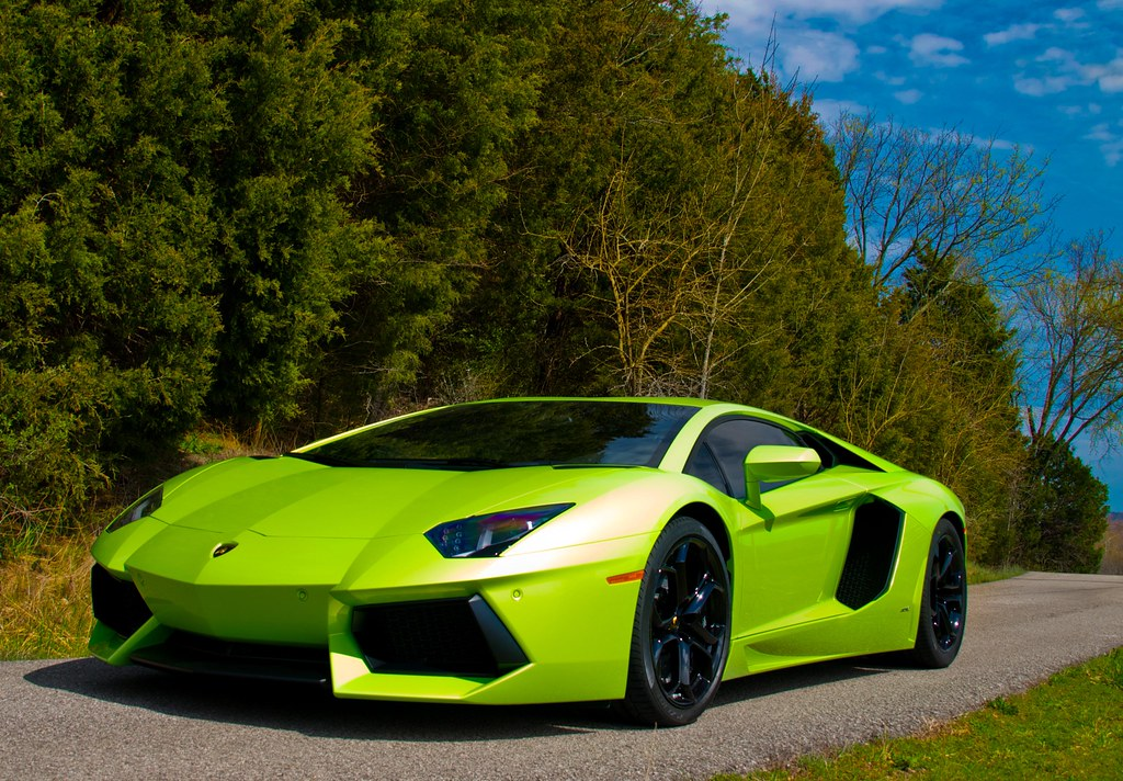 Free Download Free Green Lambo: Verde Ithaca Lamborghini Aventador LP700-4 Photo Shoot [EX