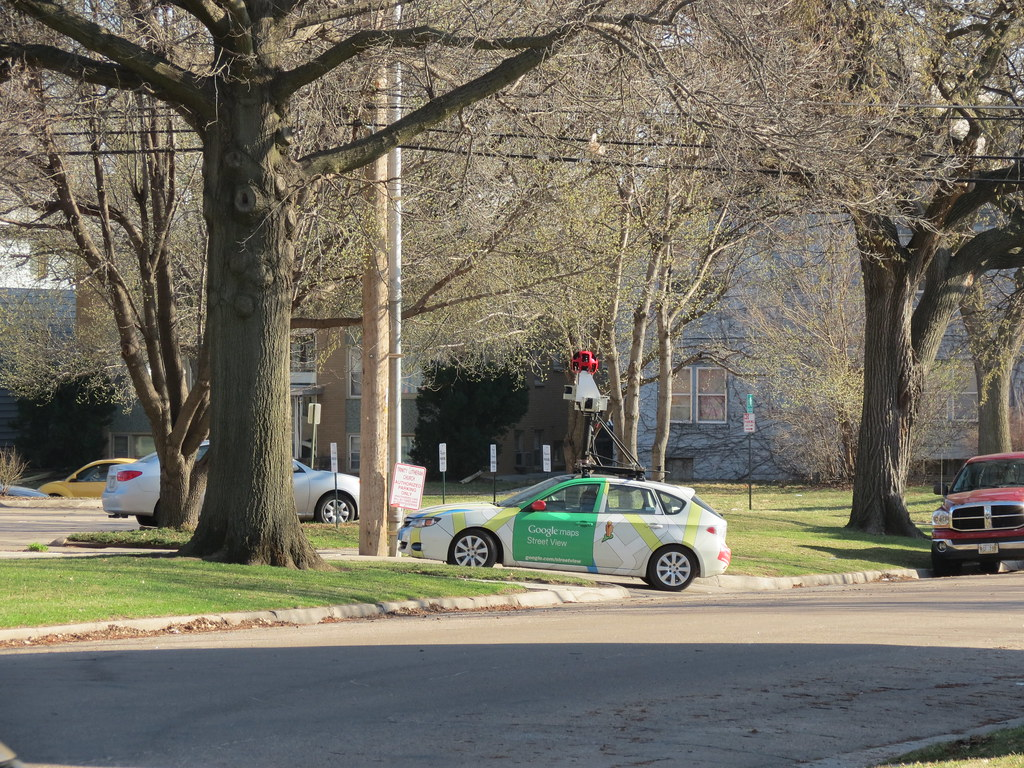 google maps street view car in lincoln ne michael sauers flickr. Black Bedroom Furniture Sets. Home Design Ideas