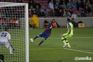 Barça - Getafe 2012