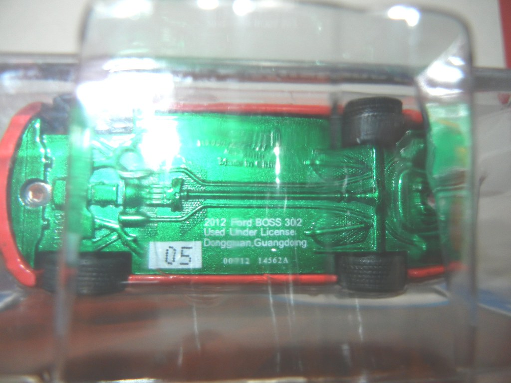 greenlight green machine mustang
