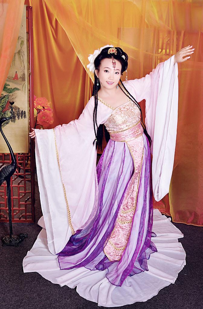 Ancient Chinese Clothing ,Tang suit——Princess Tai Ping ...