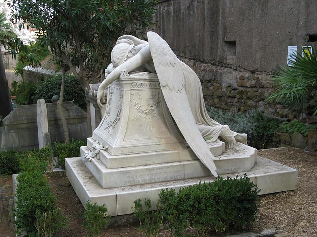 Ängeln av smärta (protestantiska kyrkogården i Rom)