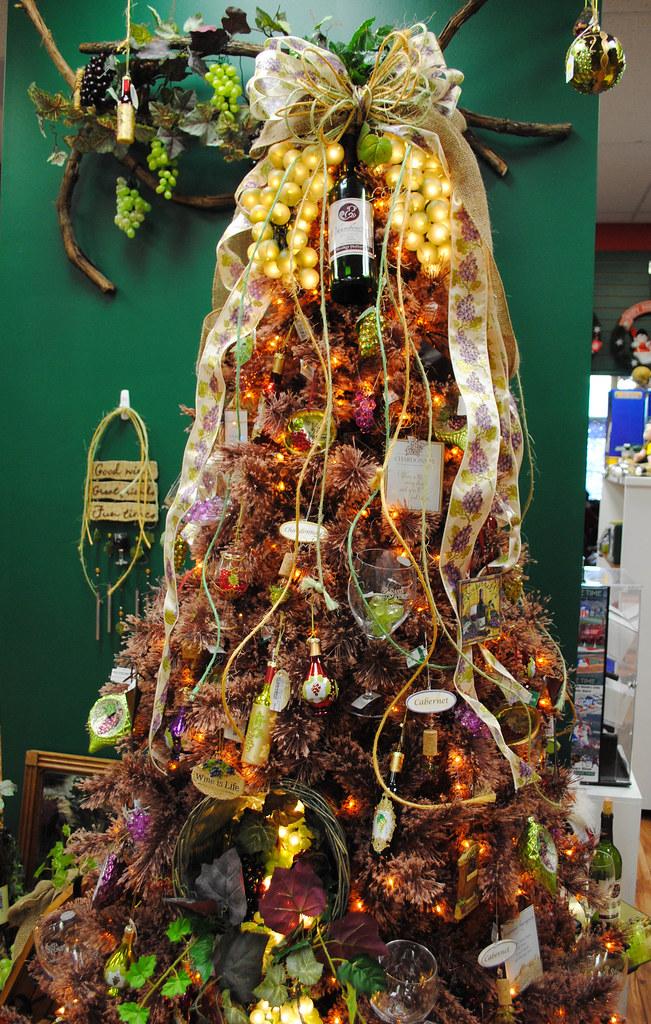 Christmas Themed Wine