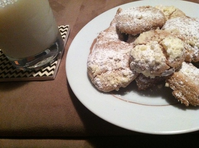 Whole Grain Mexican Wedding Cookies and Milk | Flickr - Photo Sharing!
