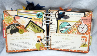 October Afternoon 9 to 5 Mini Album | by Becky F. Garrison
