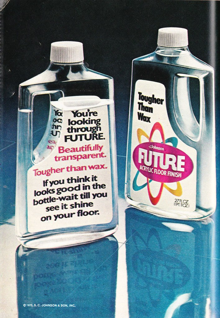 Vintage Ad For Future Floor Wax 1974 From The 1974 Tv