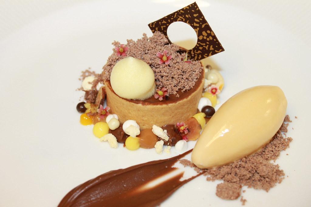 Chocolate Hazelnut Tart, Nutella Powder, Praline Gelato, B… | Flickr