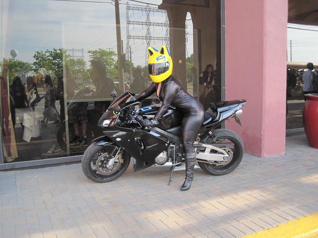 Motorcycle Cat Ears