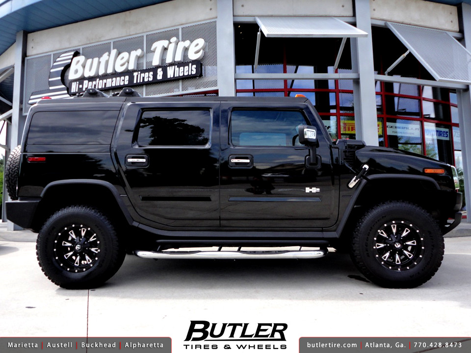 Hummer H2 With 17in Fuel Throttle Wheels Additional