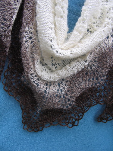 Brimnes Lace Shawl | by evelyndesigns