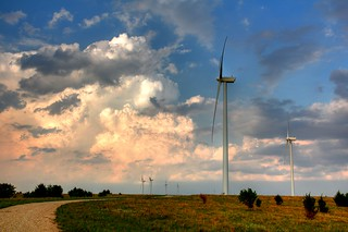 Wind Turbine and Clouds | by J-a-x