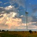 Wind Turbine and Clouds
