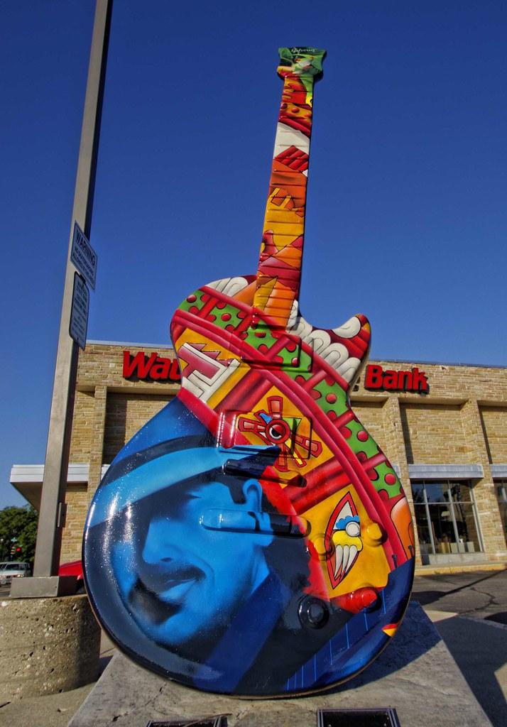 Waukesha Guitar Town #4 Jennifer Espencheid . Waukesha Tat