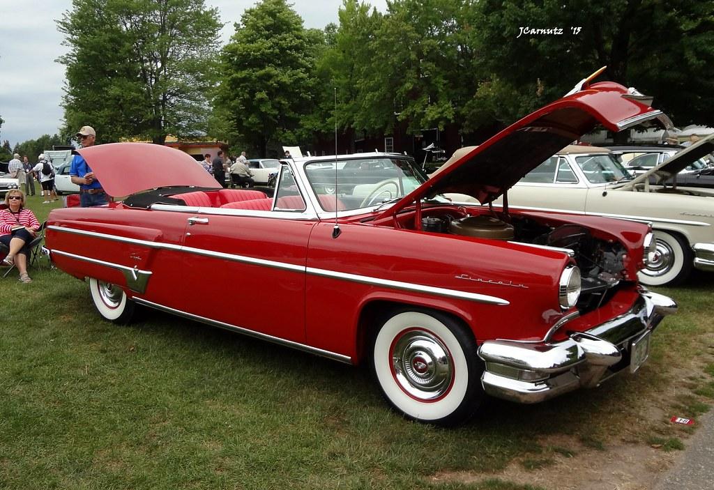 1954 Lincoln Capri Convertible The Lincoln Motor Car